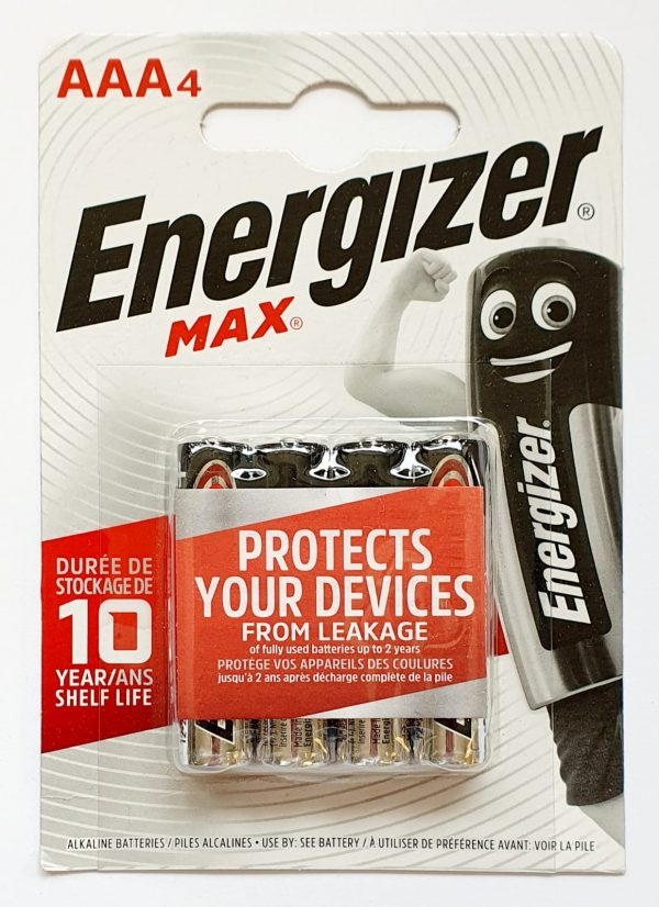 Energizer AAA 4-pack